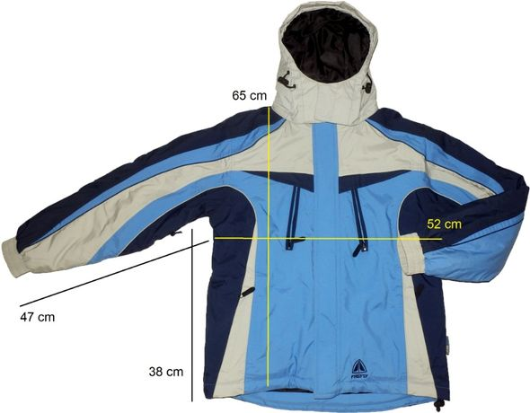 Geaca ski schi FIREFLY AquaMAX ventilata, matlasata (S/XS) cod-450825