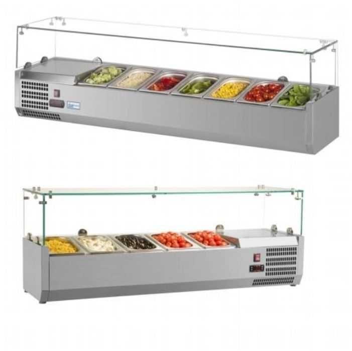 Салатни витрини салатен бар саладета чисто нови налични