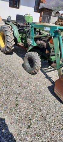 De vânzare tractor ferrari cu crepator de lemne