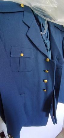 Costum uniforma militara bărbați de iarna camgarn albastru SMFA
