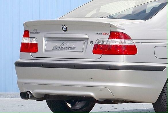Спойлер БМВ Е46 лип заден М BMW spoiler 330 ГТ Шнитцер Schnitzer M3 OZ