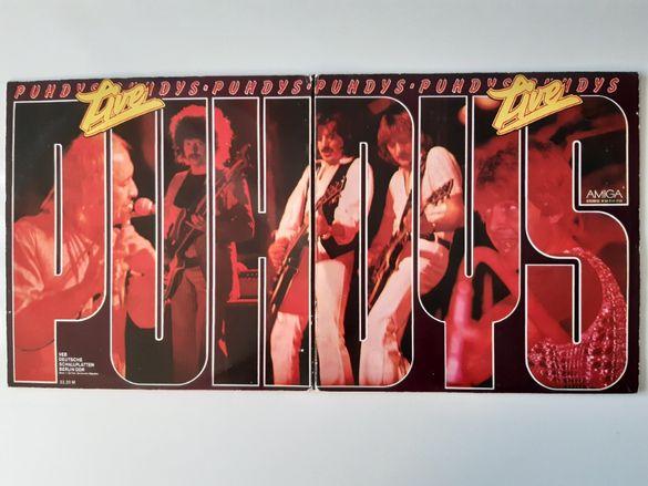 Плочи на Puhdys - двоен албум Live