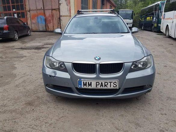 BMW E91 320d 177кс ръчка НА ЧАСТИ!