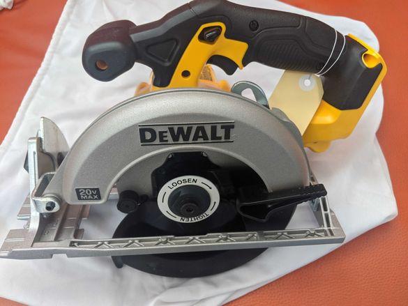 Ръчен акумулаторен циркуляр DeWALT DCS391N Внос от САЩ