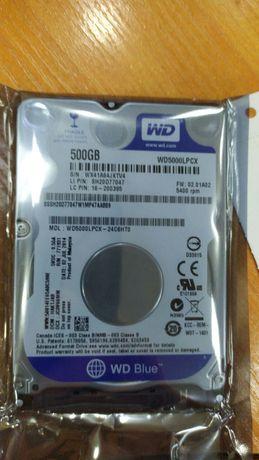 Бу и новые жесткие диски для ноутбуков