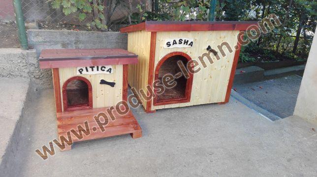 Cusca,cotet caine din lemn,izolat termic - Model Zorro