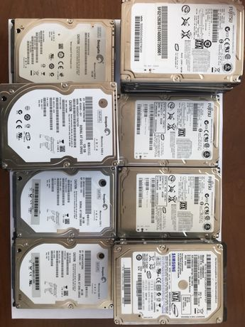 HDD 160, 120, 80, 60, 40 GB Seagate, Fujitsu, Samsung Hard Disk