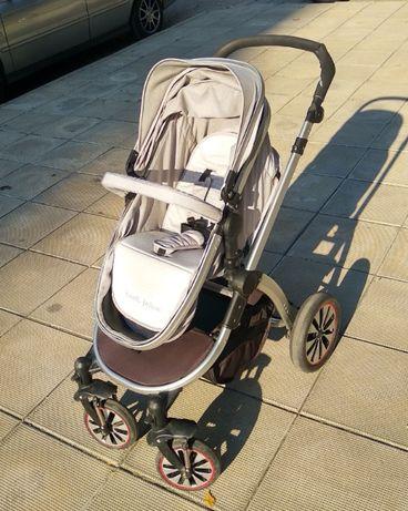 Комбинирана Детска Количка Lorelli Aurora + кош за кола и аксесоари