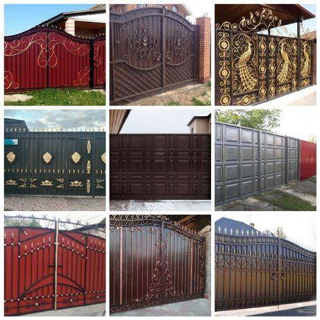 СКИДКИ на ряд услуг ПОКРАСКА ворот,забора,фасадов,перила,оград,навесов