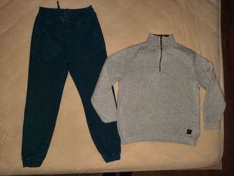 Пуловер и панталон