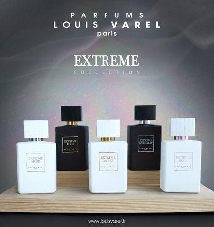 Louis Varel EXTREME bon/factura Oud Musk Amber Mukhalat Asrar Parfum