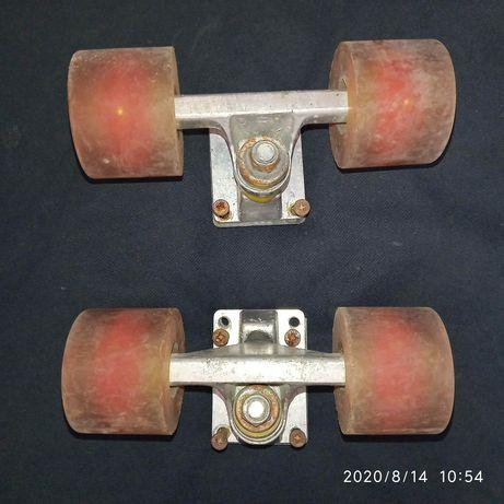Roți silicon pentru placă de peniboard, skateboard