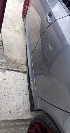 BMW e60 Prelungiri praguri for M-tech body