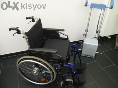Устройство за изкачване на стълби за инвалидни колички