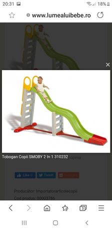 Căsuța + tobogan copii