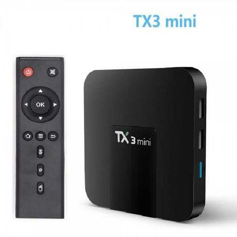 Android TV Box TX3 Mini 1GB/8GB, 2GB/16GB, Приставка Smart TV