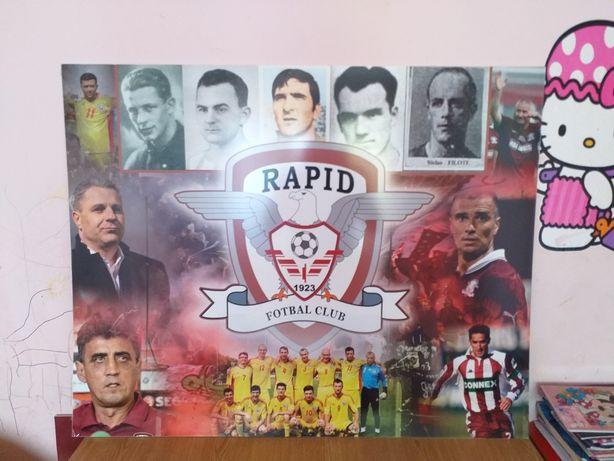 Poster de colectie Rapid Giulesti Panoplie, afis