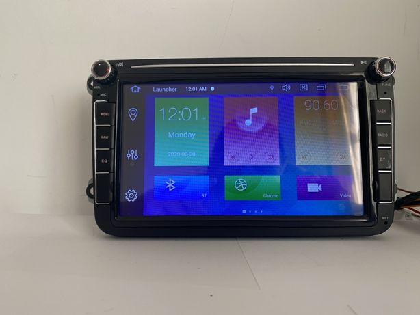 Navigație GPS Android 10 , 2 GB ram VW SEAT SKODA GARANTIE