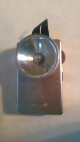 Lanterna ruseasca inox cu baterie pătrată 4,5 V