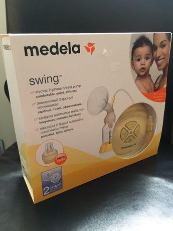MEDELA Swing електрическа помпа + Подарък: 20 пликчета за кър