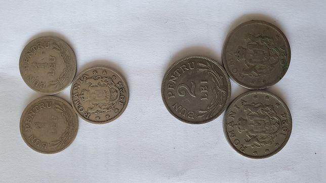 1 leu, 2 lei Bun Pentru 1924