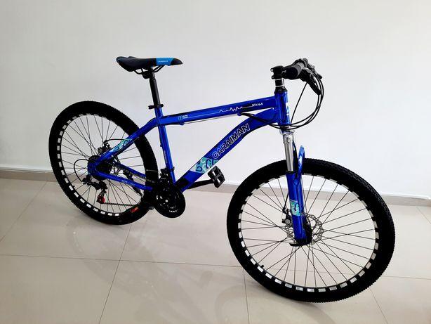 Bicicleta Caraiman R26 Crom Full Shimano