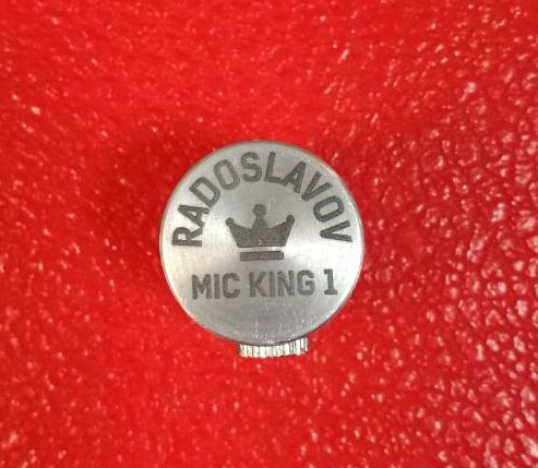 Микрофон за кларинет саксофон Radoslavov MIC KING I