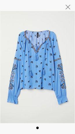 Bluză cu broderie H&M