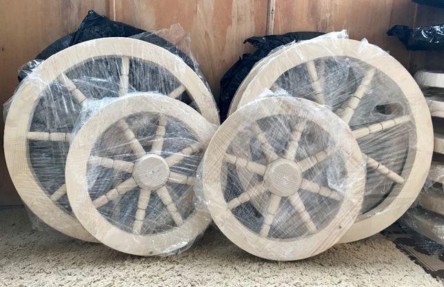 Roti lemn pentru fantani - roata de lemn rustica