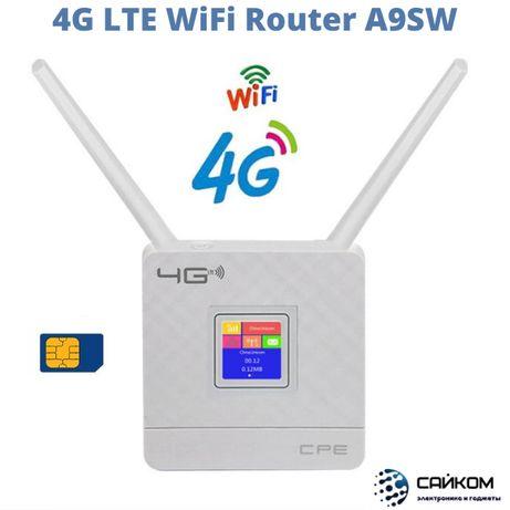 4G Модем WiFi Роутер/Вайфай на Симке/Алтел Теле2 Билайн Актив