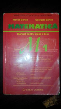 Manual M1 clasa a XI-a