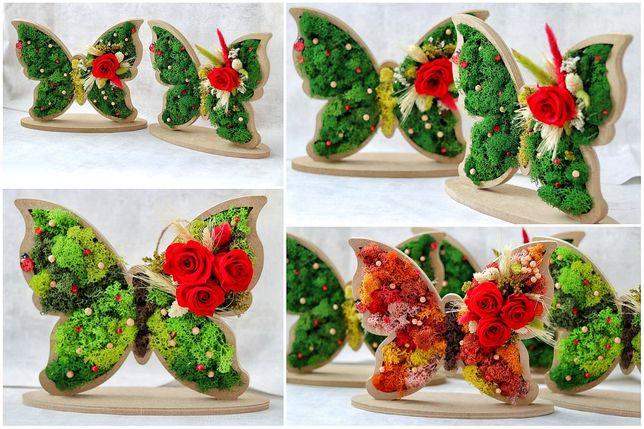 Ornament Fluturas cu trandafir criogenat