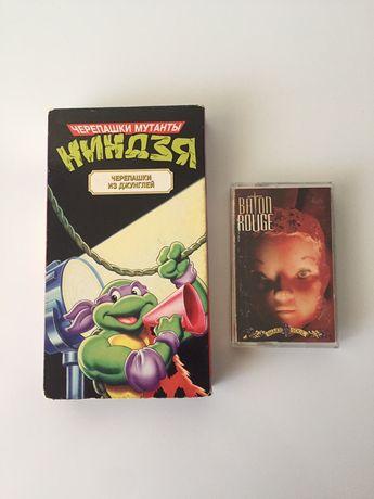 Видео и аудиокассеты за 2 шт 3000 тенге