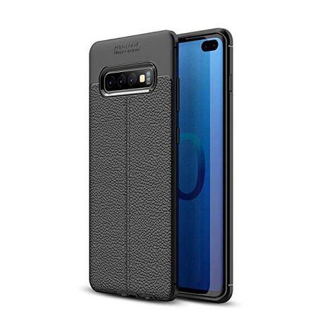 Samsung S10E S10 S10 Plus - Husa AutoFocus Ultra Slim Silicon Neagra