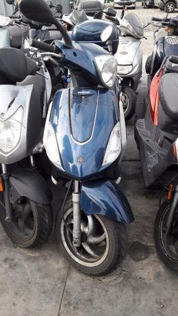 Мотоцикет,скутер Пиаджо Фли,Флай (Piaggio Fly)50-На части