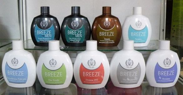 Италиански безаерозолни дезодоранти BREEZE