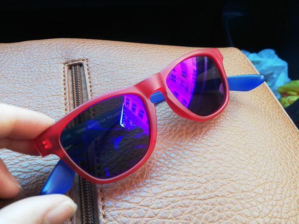 Детски слънчеви очила, подходящи и за зимни спортове