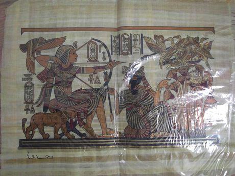Papirus Egiptean Maroc original