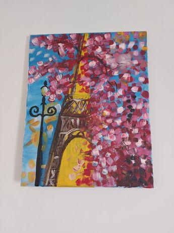 Картина эльфивая башня