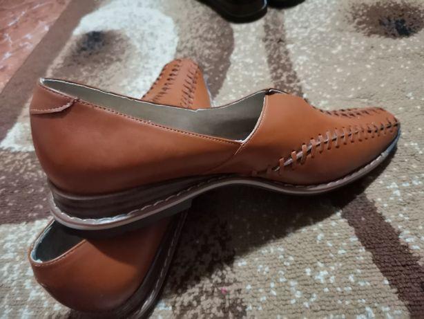 Pantofi damă maro