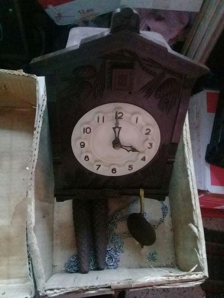 Стенен часовник кукувица Маяк
