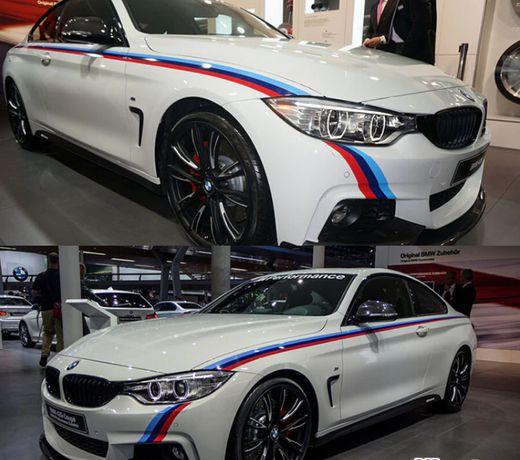 Colant Autocolant Sticker Proiect BMW Lines