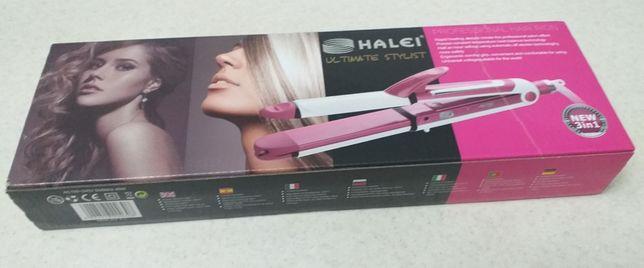 Продаю плойку HALEI 3 в одном, новая 4 500 тенге