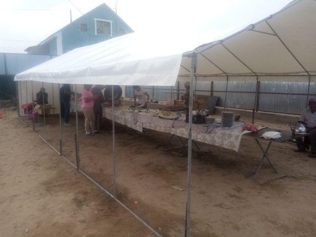 Аренда палатки с доставкой и установкой