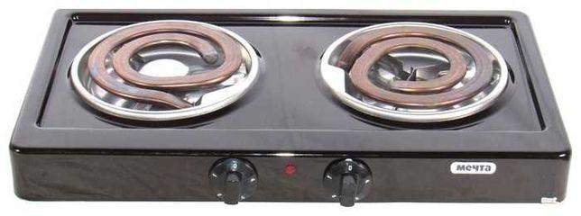 Настольная электрическая плита Мечта / варочная электроплита 2 конфор