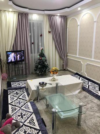 Сдам 2х комнатную квартиру в центре города посуточно,по часaм 1000 тг