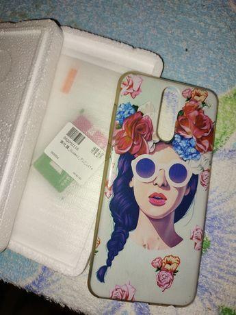 Продам чехол и защитное стекло на Huawei P 10 lite