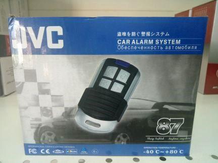 Автосигнализация JVC - 87 без автозавода