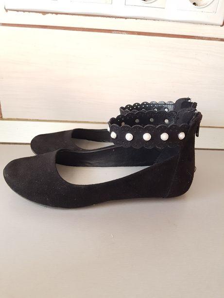 Balerini pantofi negri graceland marime 33