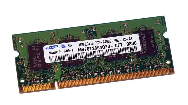 Memorii RAM 1GB DDR2 800Mhz PC2-6400S Laptop SO-DIMM NOI!